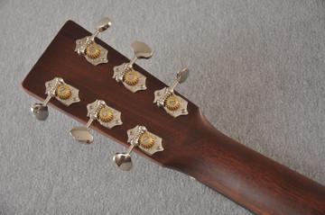 Martin Custom OM Style 18 Adirondack Sinker Mahogany #2398533 - Back Headstock