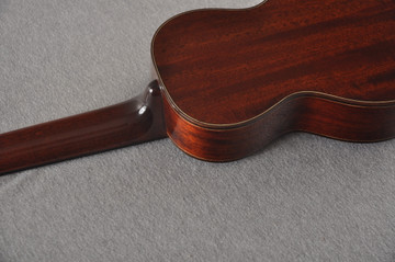 Eastman Soprano Ukulele EU3S Solid Mahogany Top Back and Sides - View 5