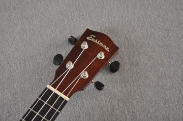 Eastman Soprano Ukulele EU3S Solid Mahogany Top Back and Sides - View 4