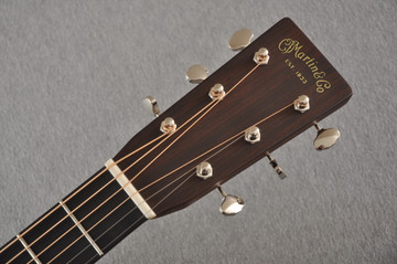 D-28 Standard Dreadnought Acoustic Guitar #2411821 - Headstock