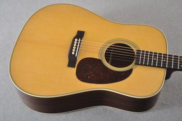 D-28 Standard Dreadnought Acoustic Guitar #2411821 - Top
