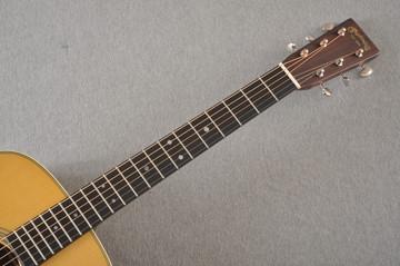 D-28 Standard Dreadnought Acoustic Guitar #2411821 - Neck