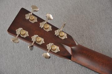 D-28 Standard Dreadnought Acoustic Guitar #2411821 - Back Headstock
