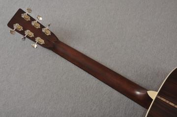 D-28 Standard Dreadnought Acoustic Guitar #2411821 - Back Neck