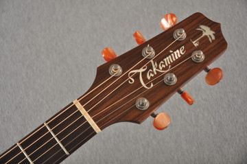 2008 Takamine KC70 #08051238 #178 - Headstock