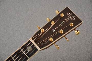 Used 2020 Martin D-41 #2347438 - Headstock