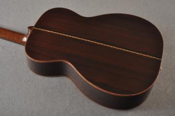 2012 Bourgeois OM DB Signature Italian Spruce Madagascar Rosewood #5852 - Back Angle