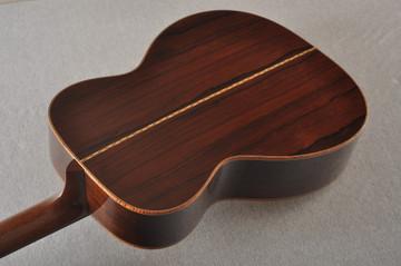 2012 Bourgeois OM DB Signature Italian Spruce Madagascar Rosewood #5852 - Light Back