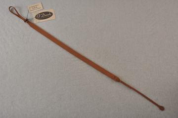 Mandolin Strap - Brown Leather - El Dorado - Made in USA - View 2