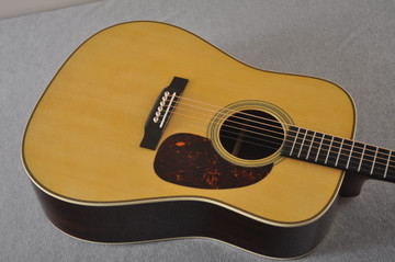 Martin HD-28 Dreadnought Acoustic Guitar #2412065 - Top Angle