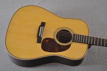 Martin HD-28 Dreadnought Acoustic Guitar #2412065 - Top