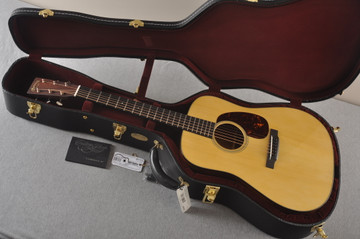 Martin Custom D Style 18 GE Adirondack Sinker 37 Neck Profile #2441718 - Case