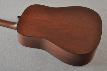 Martin Custom D Style 18 GE Adirondack Sinker 37 Neck Profile #2441718 - Back Angle