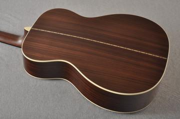 Martin Custom 000 Style 28 Adirondack Ambertone Guitar #2439245 - Back Angle