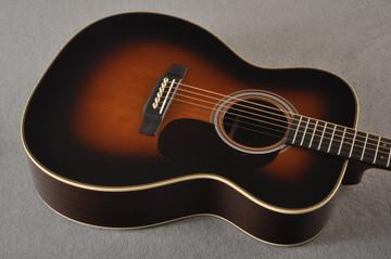 Martin Custom 000 Style 28 Adirondack Sunburst Guitar #2439240 - Top Angle
