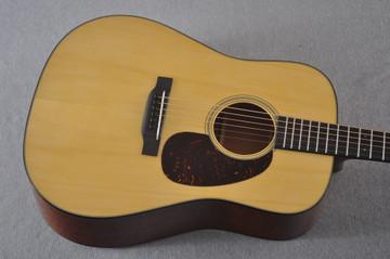Martin Custom D Style 18 GE Adirondack Sinker 37 Neck #2457203 - Top