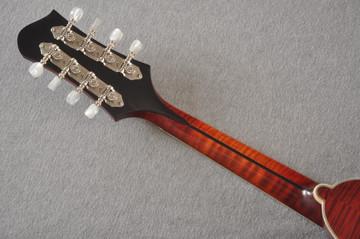 Eastman MD805/V Mandolin A Style Solid Adi Top Ebony Board - View 6