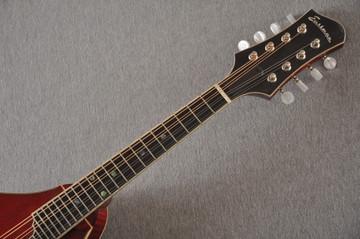 Eastman MD805/V Mandolin A Style Solid Adi Top Ebony Board - View 7
