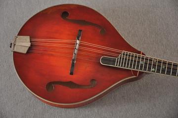 Eastman MD805/V Mandolin A Style Solid Adi Top Ebony Board - View 10
