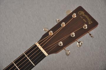 Martin Custom J Jumbo Style 18 GE Adirondack Sinker Mahogany #2241308 - Headstock