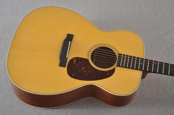 Martin Custom J Jumbo Style 18 GE Adirondack Sinker Mahogany #2241308 - Top