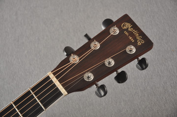2013 Martin Custom Shop OM Style 35 Acoustic Electric #1702441 - Headstock