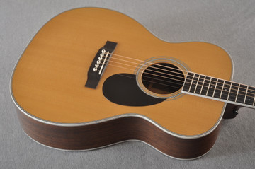 2013 Martin Custom Shop OM Style 35 Acoustic Electric #1702441 - Top Angle