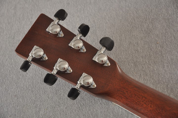 2013 Martin Custom Shop OM Style 35 Acoustic Electric #1702441 - Back Headstock