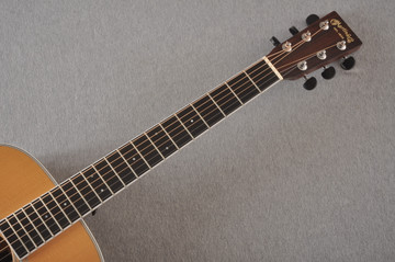 2013 Martin Custom Shop OM Style 35 Acoustic Electric #1702441 - Neck