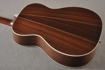 2013 Martin Custom Shop OM Style 35 Acoustic Electric #1702441 - Back Angle
