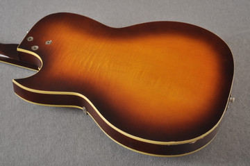 1960s Kay Galaxie Electric Guitar - Back
