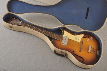 1960s Kay Galaxie Electric Guitar - Case