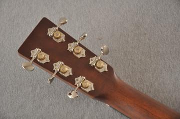 Martin 000 Custom Style 18 Adirondack Ambertone Guitar #2483234 - Back Headstock