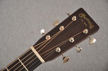 Martin Custom HD Style 28 Adirondack Ambertone #2483255 - Headstock