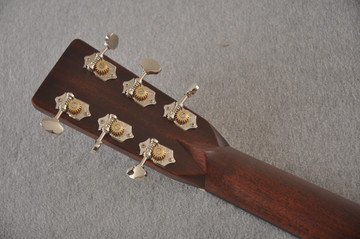 Martin Custom HD Style 28 Adirondack Ambertone #2483255 - Back Headstock
