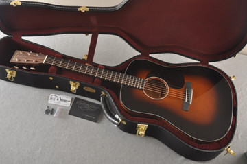 Used 2020 Martin Custom D 18 Adirondack Sunburst #2397727 - Case