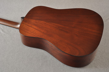 Martin Custom D Style 18 GE Adirondack Sinker Sunburst #2483247 - Back Angle