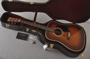 Martin Custom HD Style 28 Marquis Ambertone GE Adirondack #2457218 - Case