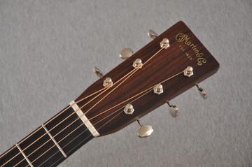 Martin D-28 Sunburst Standard Dreadnought Guitar #2522330 - Headstock
