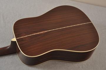 Martin D-28 Sunburst Standard Dreadnought Guitar #2522330 - Back