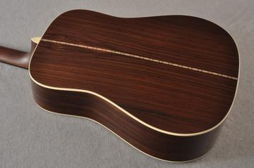 Martin D-28 Sunburst Standard Dreadnought Guitar #2522330 - Back Angle