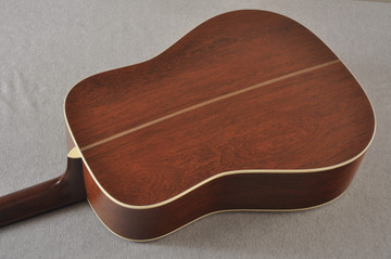 Martin D-28 Authentic 1937 VTS Dreadnought Guitar #2496089 - Back Angle