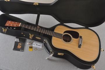Martin D-28 Authentic 1937 VTS Dreadnought Guitar #2496089 - Case