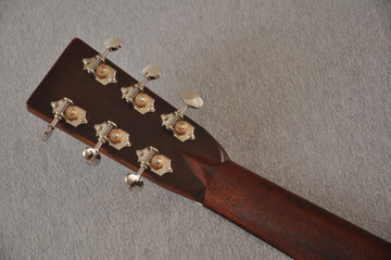 Martin D-28 Authentic 1937 VTS Dreadnought Guitar #2496089 - Back Headstock