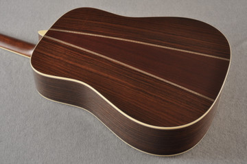 Martin HD-35 Dreadnought Standard Acoustic Guitar #2502668 - Back Angle