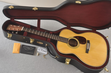 Martin Custom OM Style 28 Marquis GE Adirondack #2519057 - Case