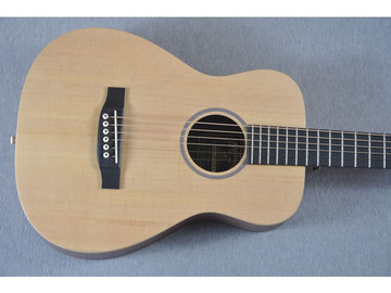 Little Martin LX1 Acoustic Guitar - Small Childs Children - Top View 2