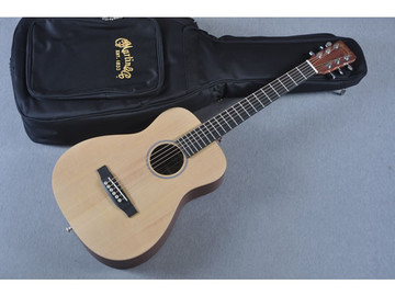 Little Martin LX1 Acoustic Guitar - Small Childs Children - Bag View
