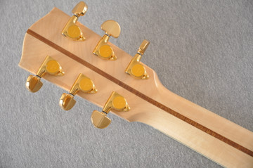 Eastman AC630-BD Jumbo Acoustic Guitar Solid Engleman Spruce Top - View 7