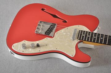 Fender American Telecaster Thinline Ltd Edition - Fiesta Red - View 4
